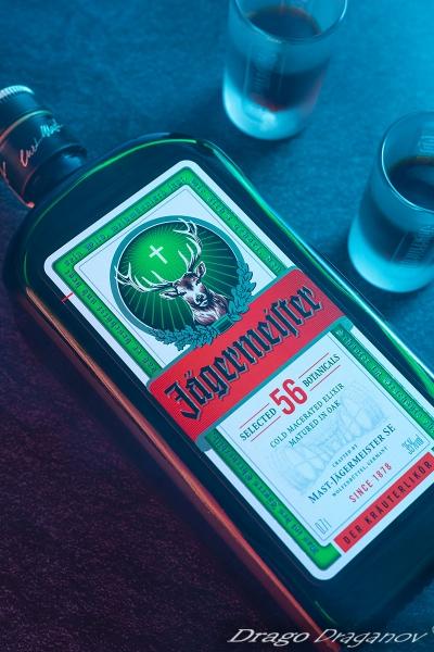 Продуктова фотография алкохол