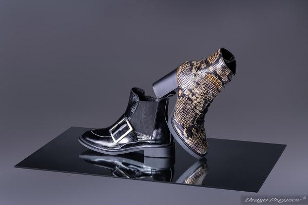 продуктова фотография обувки