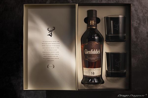 Рекламна фотография алкохол